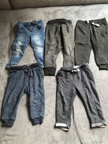 Zestaw, paka, paczka ubrań dla chłopca 92 spodnie, bluzki