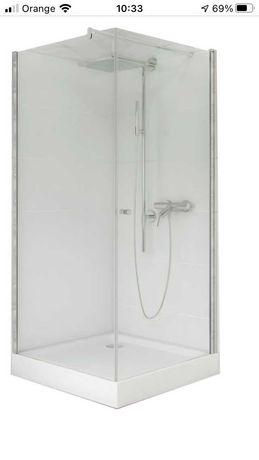 NOWA kabina prysznicowa kwadratowa 90x90cm nie wymagająca brodzika
