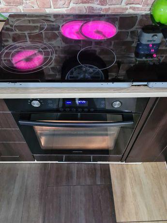 Piekarnik Samsung dual cook +plyta cer bardzo zadbany