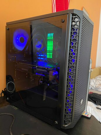 Komputer gamingowy (Intel i7-10700, 32 GB RAM, GTX 1070ti, SSD) NOWY