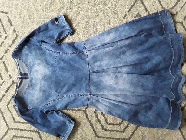 Dżinsowa sukienka r.34