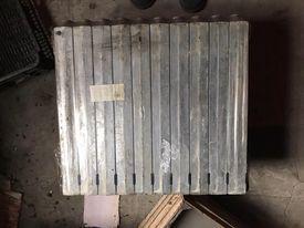 grzejniki aluminiowe 10 żeberek 17 szt