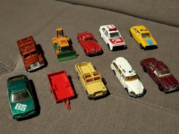 Resoraki Matchbox, Majorette, Efsi DS VW Golf Sierra RR Land Rover