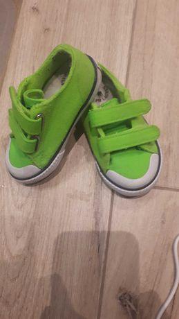 Tenisowki, trampki zielone Polo Ralph Lauren rozm 21