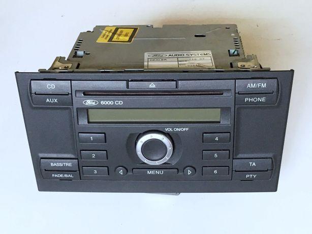 Radio 6000 CD Aux 6000CD Ford MONDEO mk3 + KOD rozkodowane