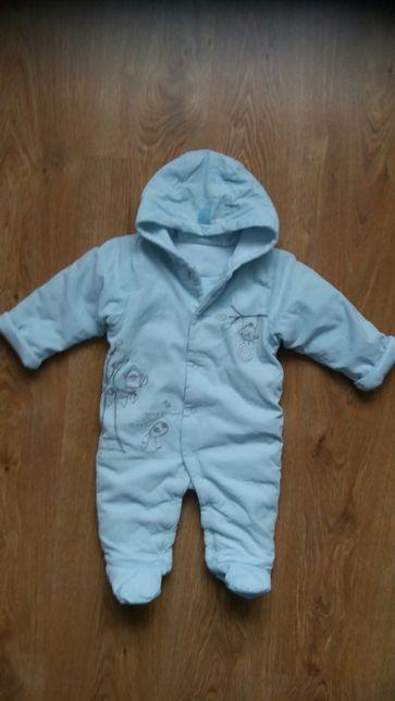 Kombinezon niemowlęcy polarkowy M&S roz.68