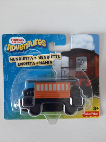 Tomek i przyjaciele Adventures Lokomotywa Hania Henrietta nowa
