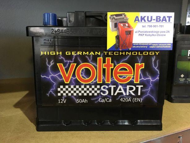 Akumulator Volter 50Ah 420A