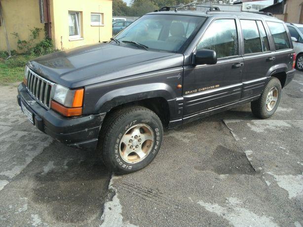 jeep grand cherokee 2.5td 4x4 skóry elektryka hak