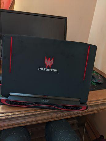 Acer predator 15, gtx 1070 8gb, 16gb ddr4, ігровий ноутбук