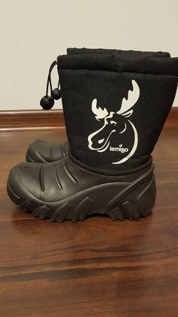 LEMIGO chłopięce buty zimowe 32/33 na mróz