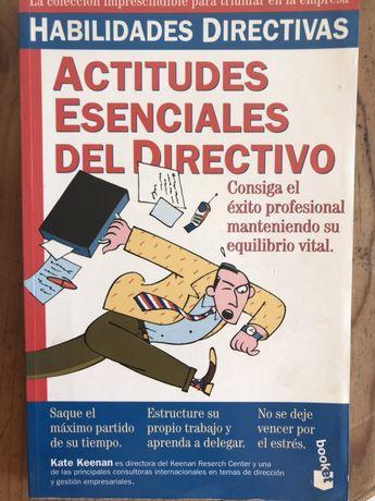 Livro Atitudes Essenciais do Director (Espanhol) Novo