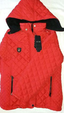 Красивая фирменная и стильная курточка ARMANI JUNIOR