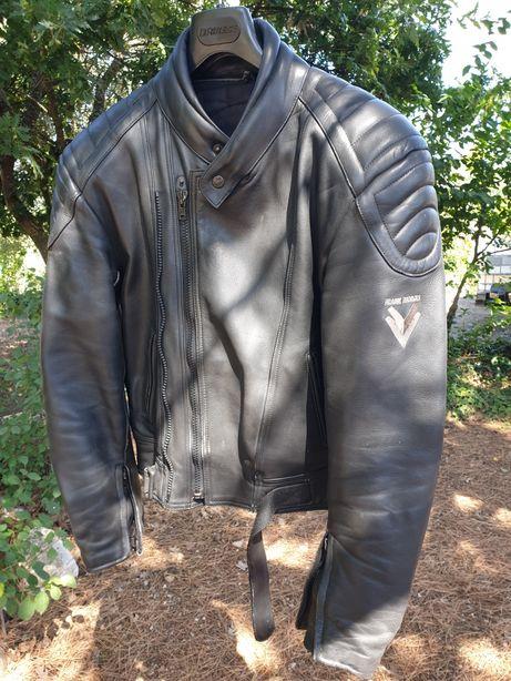 Blusão motard de pele, Frank Thomas.