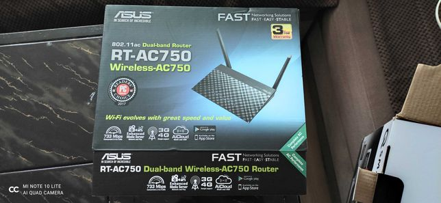 Router Asus Rt-Ac750 xDSL dual-band