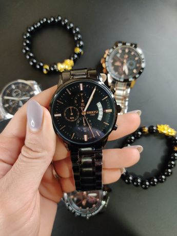 Кварцевые водонепроницаемые часы от знаменитых брендов NIBOSI и LIGE