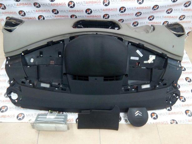 Conjunto de Airbags e Tablier Citroen c4 Picasso