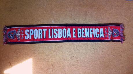 Cachecol novo slb sport lisboa benfica oficial preto vermelho