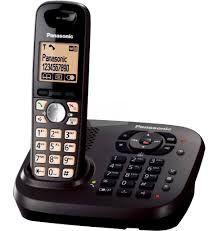 Telefon PANASONIC KX-TG6561PD Identyfikacja czarny