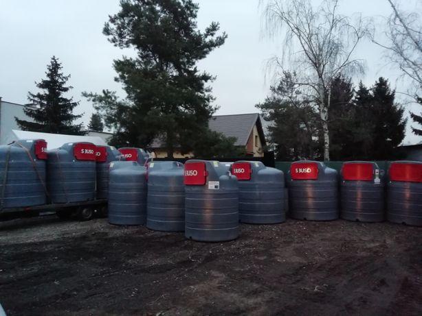 Zbiornik na paliwo ropę 1500 litrów Całe województwo Pomorskie