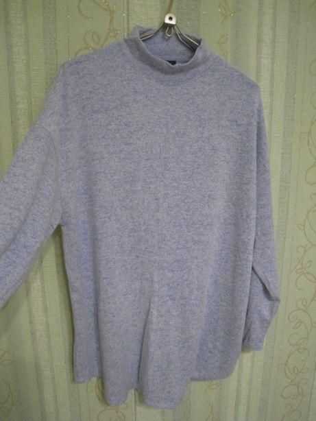 вискозный женский свитер гольф M&S на р.54