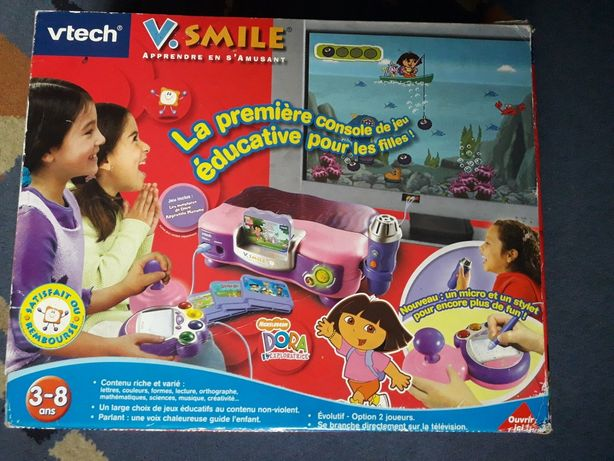 Konsola gra telewizyjna Vtech V.SMILE Dora