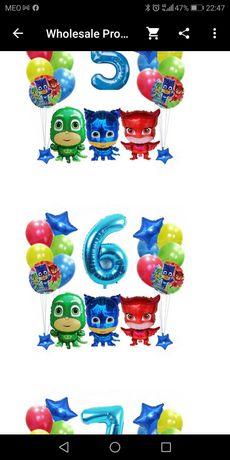 PJ Masks balões de aniversário