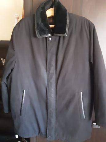Куртка мужская, зима-осень, с отстегивающейся подкладкой