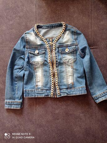 Джинсовые куртки для девочки
