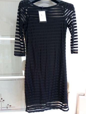 Sukienka mochito 36 mała czarna nowa