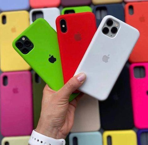 Силиконовый чехол на айфон Iphone 11 12 XR MAX PLUS 7 8 Xs mini SE 6