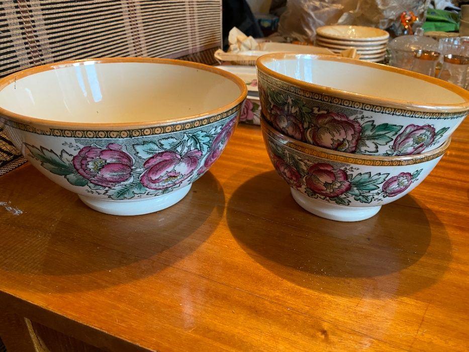 Салатник тарелка для супа для микроволновки с пионами 3 шт Харьков - изображение 1