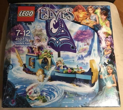 O Barco de Aventuras Épicas da Naida (Elves 41073)