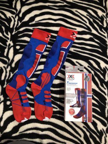 Горнолыжные носки x socks x bionic 39-41 42-44 норвегия