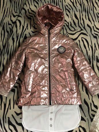 Куртка курточка-ветровка для девочки демисезонная/весна-осень