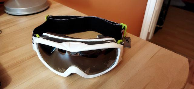 Gogle narciarskie okulary snowboardowe 4F damskie junior
