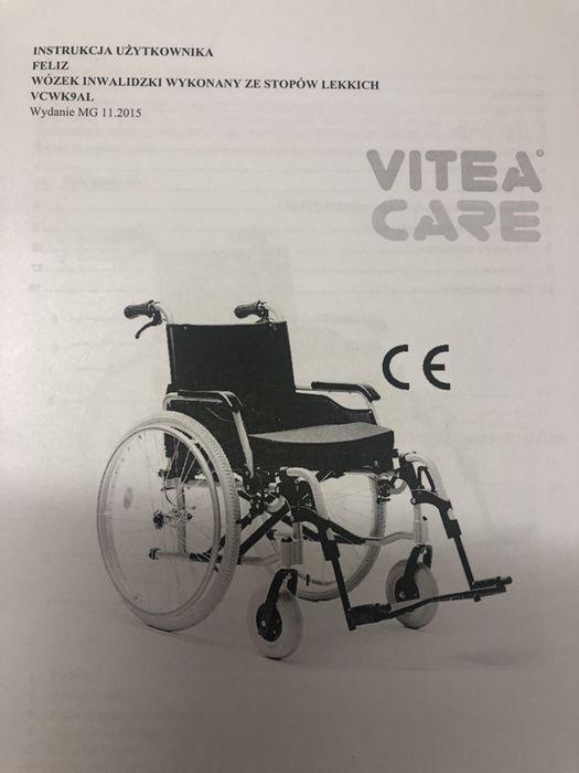 Sprzedam wózek inwalidzki Bytom - image 1