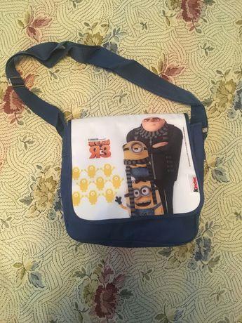 Новая сумка Kinder Миньоны Посипаки