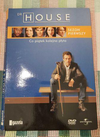 Płyty DVD Dr House Sezon 1 (4 płyty)