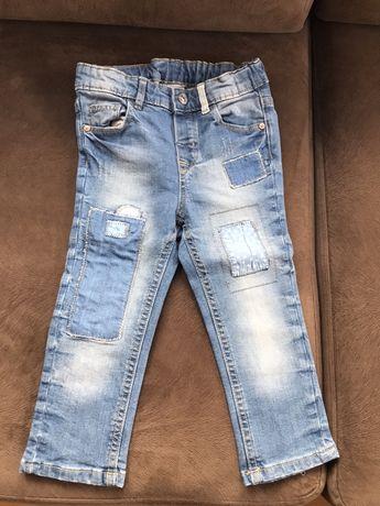 Spodnie jeansy 86 cm