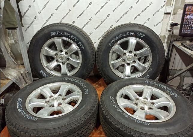 Колеса (шины, диски) Toyota Land Cruiser 120 комплект 265 65 17
