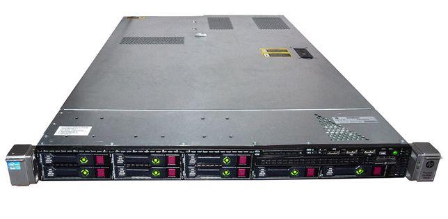 Сервер HP ProLiant DL360e G8 2x Xeon E5-2470 48Gb 4x 300Gb SAS RAID