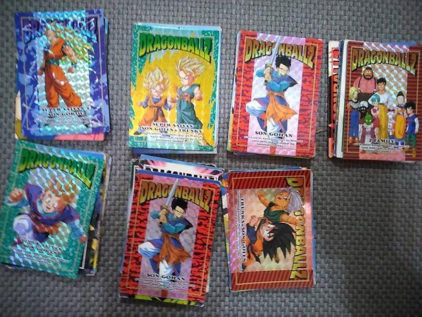 +65 Cartas Memoriais Dragon Ball Lote4