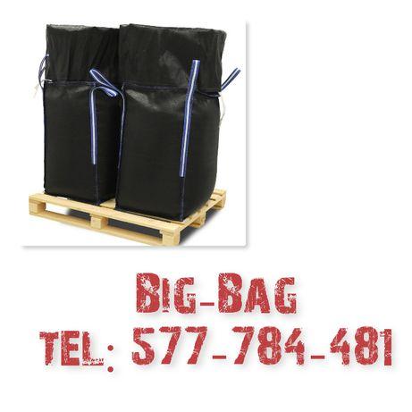 Worki Big Bag ! Używane! rozmiar 160cm! Fartuch! Lej! Czyste! Spożywka