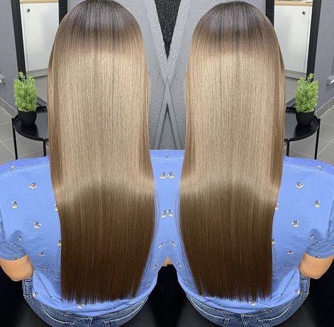 Кератин выпрямление волос/ботокс Жк Чайки