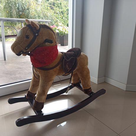 Koń na biegunach interaktywny