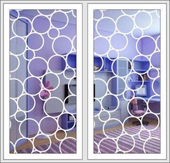 Защитно-декоративные решетки на панорамные окна