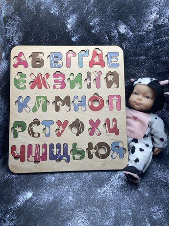 Детский деревянный алфавит