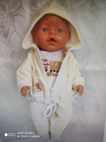 Zestaw ubranek dla lal r 41-45 cm typu baby Born i hiszpańskie.