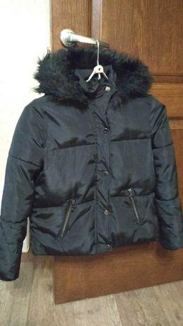 Куртка для девочки 7-8 лет (зима)